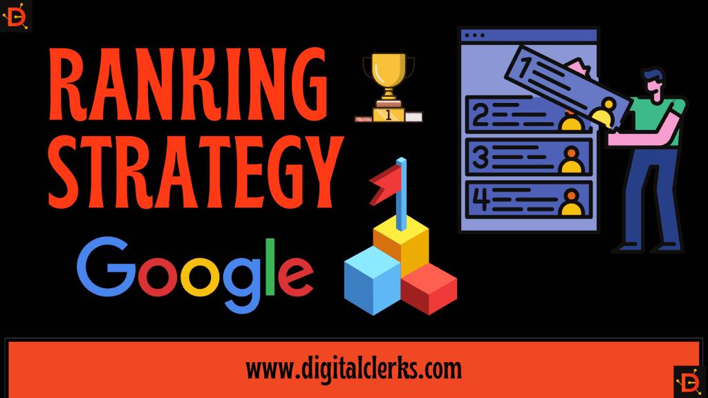 Website Ranking Strategy